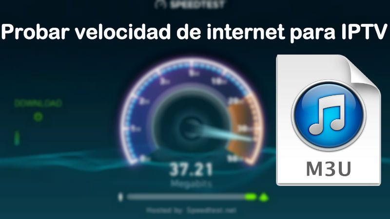 probar testear velocidad internet para iptv speed test android pc iphone tv box smart tv