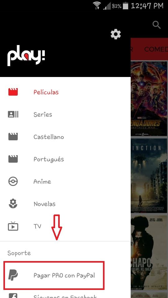 play app pro para android