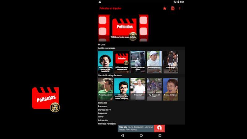 Peliculas en Español APP android