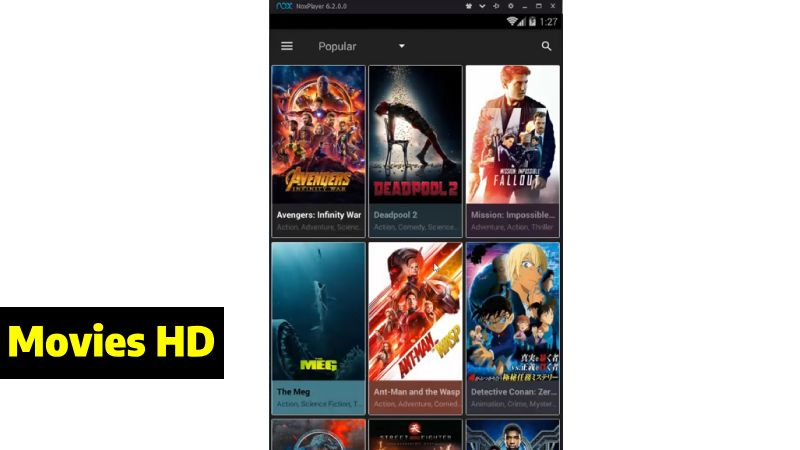 Descargar Movies HD gratis