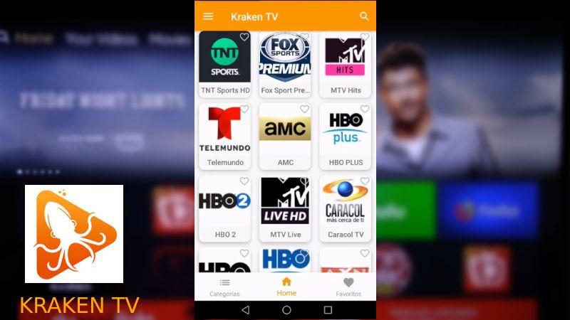 Kraken TV APK android