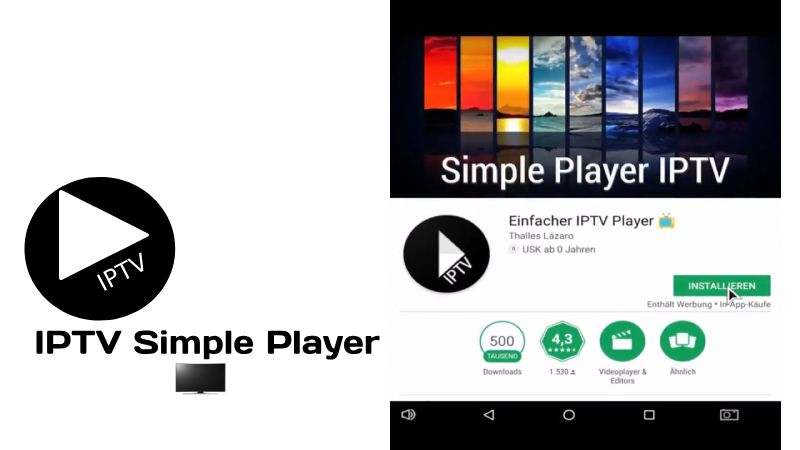 Como instalar Simple Player IPTV apk para PC