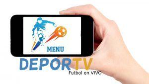 Descargar DeporTV APP para Android / DeporTV APK Android