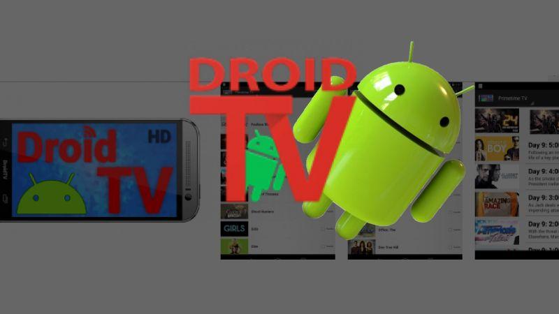 Descargar DroidTV APP para Android