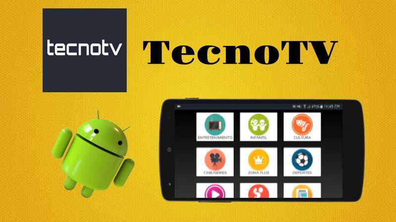 TecnoTV APK Android última versión 2018