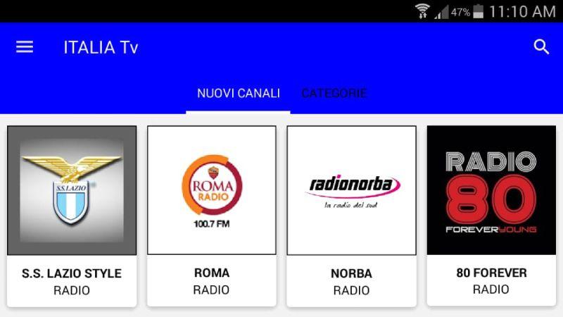 ITALIA TV para Smart TV