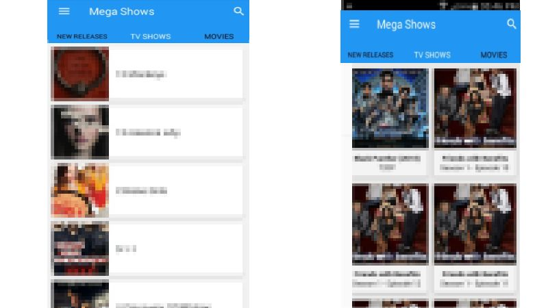 Mega Shows apk