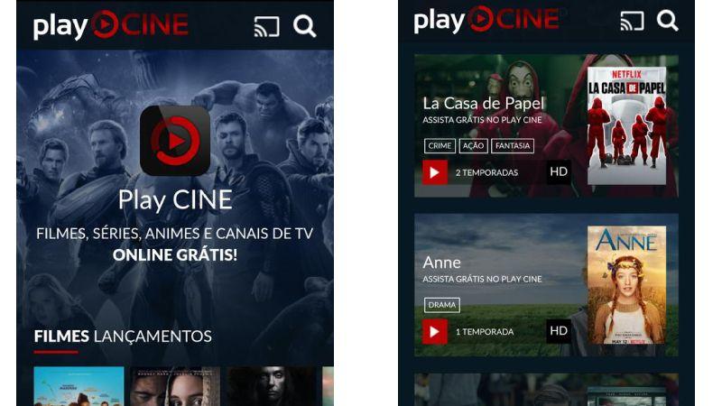 descargar Play CINE apk