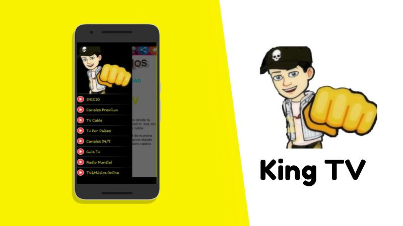 ツ King TV APK gratis para celulares Android → PC【Mega versión】