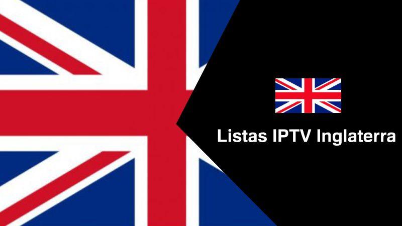 obtener Listas IPTV Inglaterra actualizadas