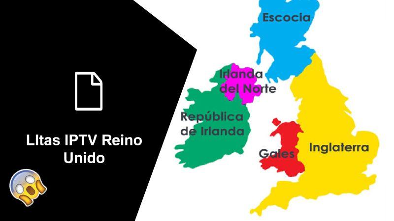 Descargar listas IPTV Reino Unido 2019