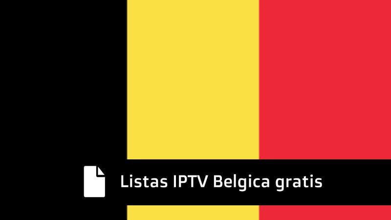 mejores listas iptv belgica actualizadas
