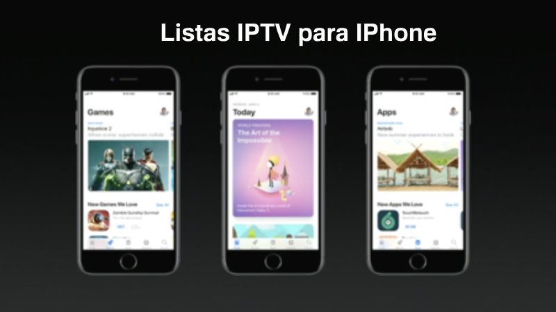 descargar listas iptv para iphone