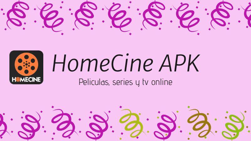 descargar HomeCine