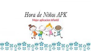 Descargar Hora de Niños APK