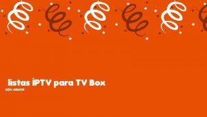 descargar listas IPTV TV Box