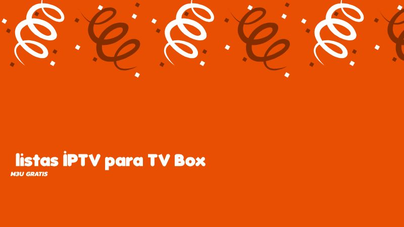 descargar listas IPTV TV Box