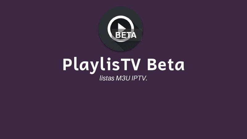 instalar PlaylisTV Beta