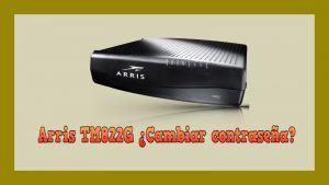 configurar ARRIS TM822G