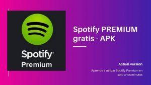 Spotify PREMIUM gratis APK