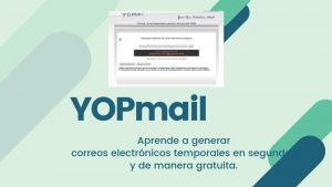 YOPmail crear correos electrónicos