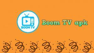 Boom TV app gratis