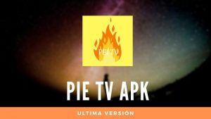 descargar Pie TV apk