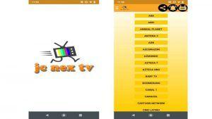 JC Nex TV APK Gratis en Android: última versión PREMIUM