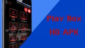 Play Box apk en Android y TV Box: Full HD y SD
