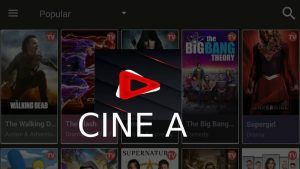 CINE A apk versión Pro: Android, TV Box, Smart TV