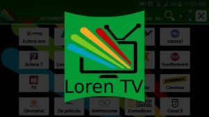 Loren TV apk en Android y TV Box: Full HD y 4K