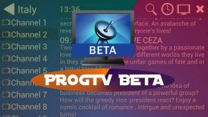 ProgTV Beta apk Gratis: Ultima version Android TV Box Smart TV PC