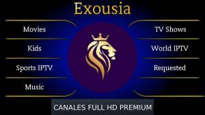 Exousia APK en Android y TV Box: Ultima versión Pro