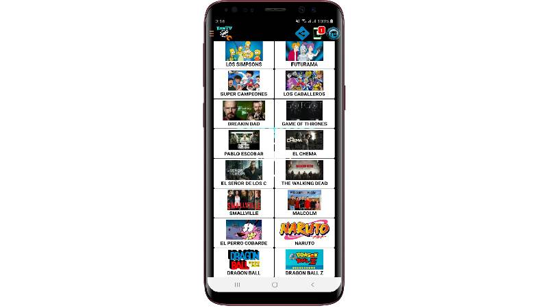 Exe TV Pro para Android