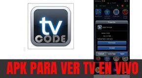 Code TV Plus APK versión PREMIUM para Android y TV Box