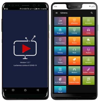 Cine Family APP para Android