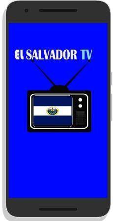 El salvador TV gratis App para Android