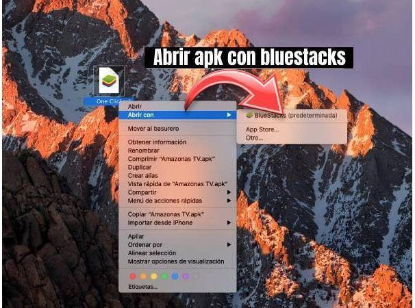 OneClic apk para Windows GRATIS