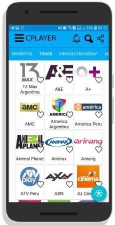 CPLAYER apk para Android