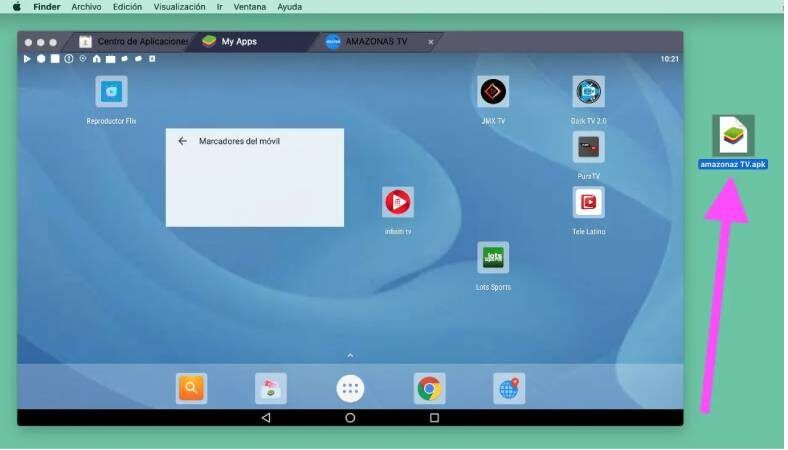 Apps en PC