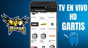 Pegasus Plus APK para TV Box y Smart TV última versión