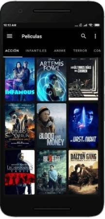 Cine Dark apk para teléfono Android