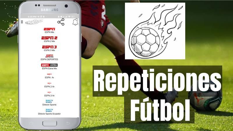 Repeticiones Fútbol