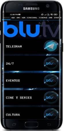 Blu TV APK para teléfono Android