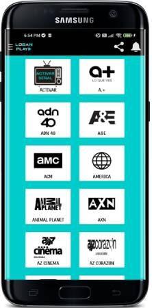 LoganPlay para telefonos Android